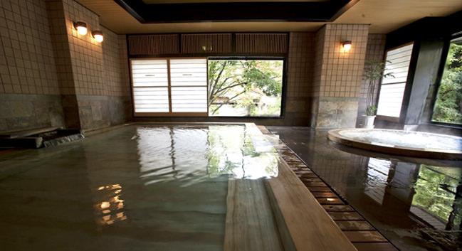 ホテル聚楽水上の大浴場