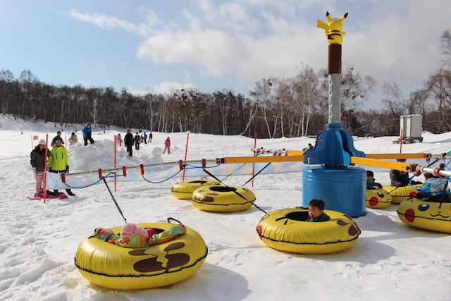 水上で雪遊び!親子で楽しむ3つの方法!-スキー場ぼキッズスペース