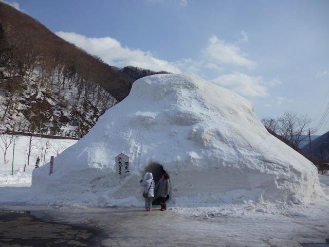 水上で雪遊び!親子で楽しむ3つの方法!-公園での雪遊-谷川岳ドライブイン